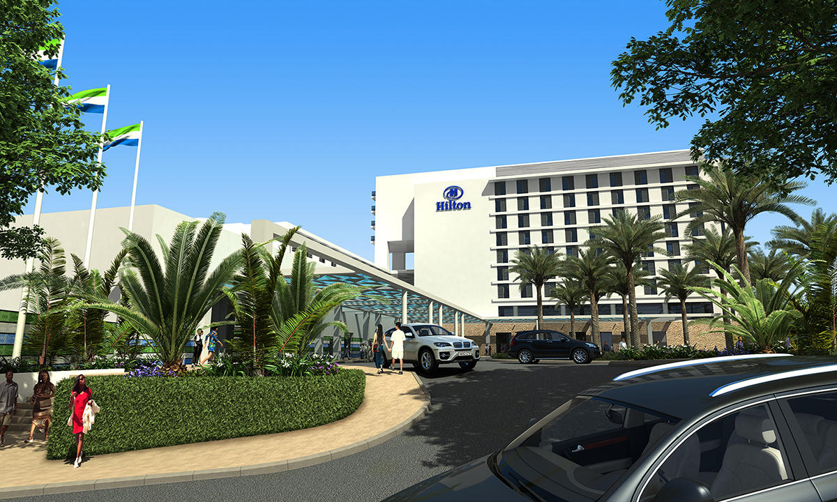 hilton hotel vertical integration